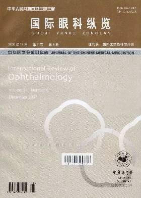 《国际眼科纵览杂志》封面