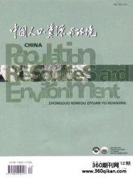 中国人口资源与环境