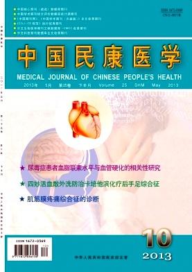 国家级医学期刊中国民康医学