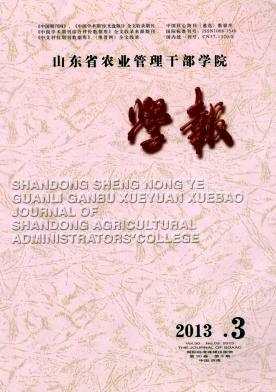 山东省农业管理干部学院学报2015年上半年征稿要求