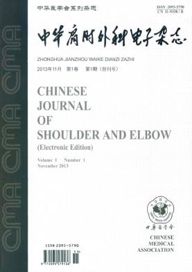 中华肩肘外科电子杂志2015年最新征稿要求