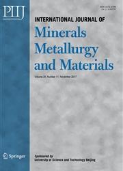 矿物冶金与材料学报:英文版